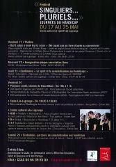 festival,singuliers,pluriels,ccas,bagnols sur cèze,mai,2013,journées,handicap