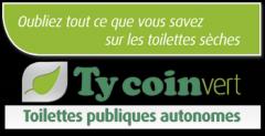 toilettes sèches, publiques, Ty coin vert, APF entreprises,